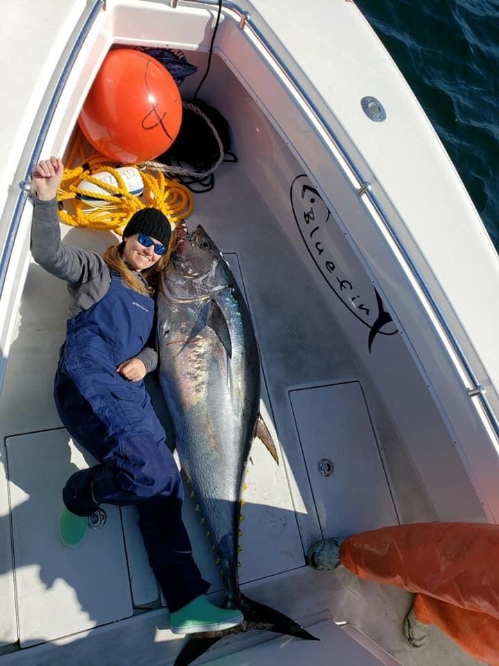 Darrell Childress daughter with tuna